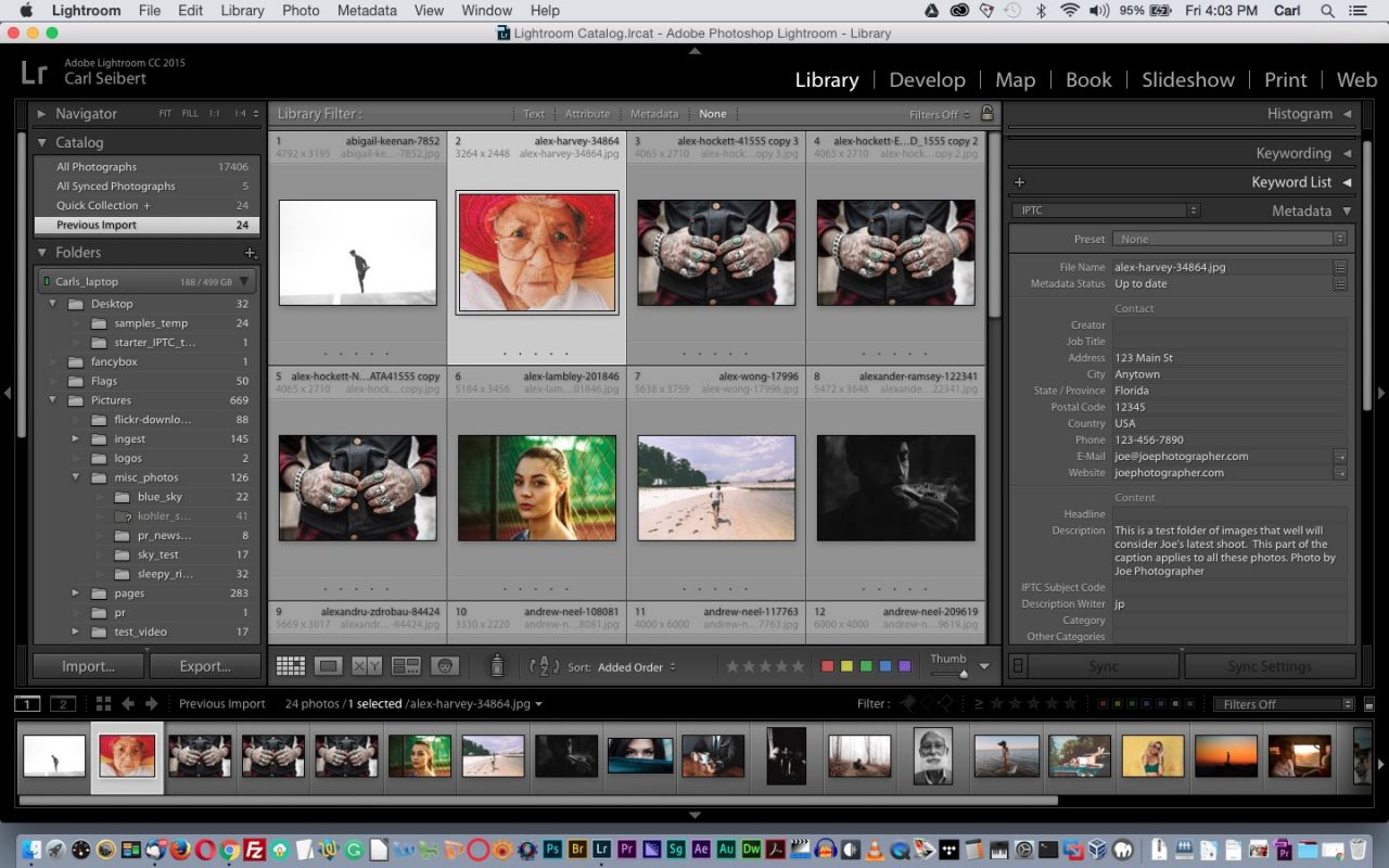 Adobe Lightroom is a great platform for managing and organizing your photos.