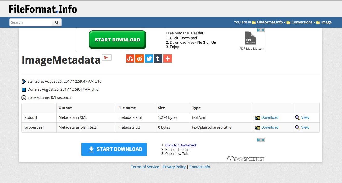 fileformat info - CARL SEIBERT SOLUTIONS