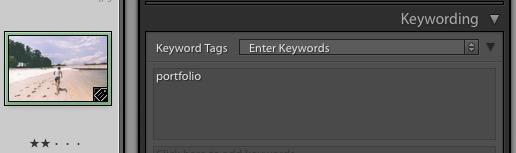 Keywords field