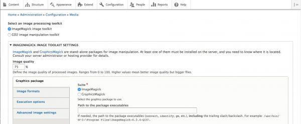 ImageMagick installed in Drupal