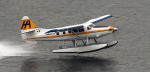 A De Havilland Otter on floats