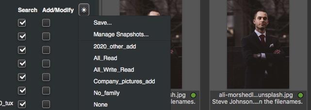 Catalog Snapshots